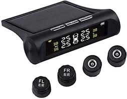 <b>TPMS Solar</b> Tyre Pressure Monitoring Systems Color LCD Display ...