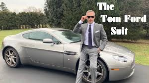 The No Time To <b>Die Tom Ford</b> Suit Review and Story - YouTube