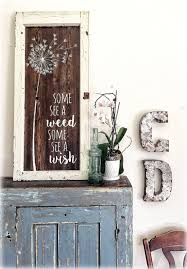 wood sign glass decor wooden kitchen wall: dandelion wishes some see a weed some see a wish reclaimed barn wood sign antique window frame ooak
