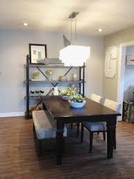 dining room bench seating: dining table with bench and upholstered chairs hic design dining rooms discount dining room