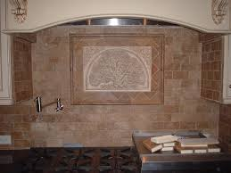 Backsplash Kitchen Tile Kitchen Tiled Backsplash With Handcrafted Rabbit Tile As An