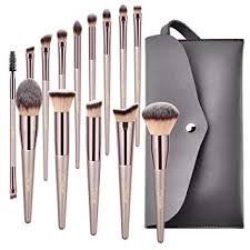 Amazon.com: BESTOPE <b>Makeup Brushes</b>, Conical Handle ...