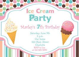 ice cream party invitations com ice cream party invitations to bring your dream design into your party invitation 16