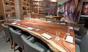 wood slab dining table beautiful: morimoto napa top image morimoto napa