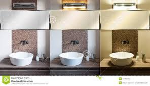 modern bathroom light different bathroom lightin modern bathroom