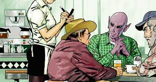 Resident Alien #1: Reader's ... - Too Busy Thinking About My Comics