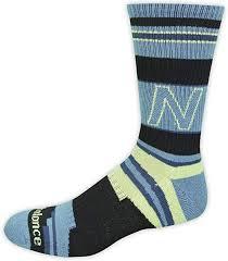 New Balance Unisex 1 <b>Pack Lifestyle</b> Retro Stripped <b>Crew</b> Socks
