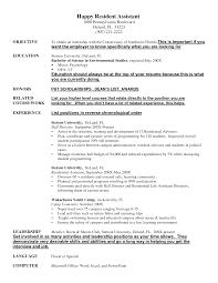 resident assistant resume resume badak resident assistant resume sample