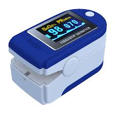 Colour <b>CMS50D</b> Finger <b>Pulse Oximeter</b> ContecEvanmore