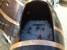 2 wine barrel chairs wine barrel furniture deep south barrels a arched napa valley wine barrel table