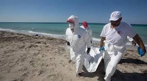 ليبيا - الامواج تجرف جثث مهاجرين غرقوا في المتوسط
