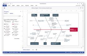 how to create a ms visio business process diagram using    ms visio cause and effect  ishikawa  diagram