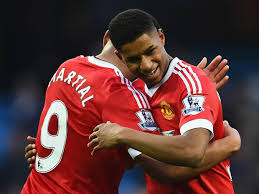 Image result for rooney and martial