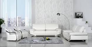glamor small living room interior design ideas showing off white italian leather sofa sets with combined astounding red leather couch furniture