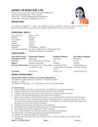 resume for teachers fresh graduate sample customer service resume resume for teachers fresh graduate resume for freshers career objective of resume for fresher sample resume