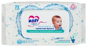 <b>Влажная туалетная бумага</b> Mary Premium <b>детская</b> — купить по ...