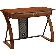 get quotations office star products aurora computer desk medium oak with black accents besi office computer desk