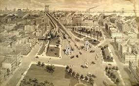 「Manhattan Bridge completed」の画像検索結果