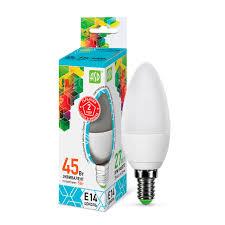 Светодиодная <b>лампа ASD STANDARD</b> Е14 5 Вт 450 лм 4000 К ...