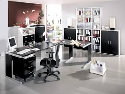 awesome multipurpose table and simple cabinet also nice wall decoration for home office decorating ideas furniture cabinets modern home office