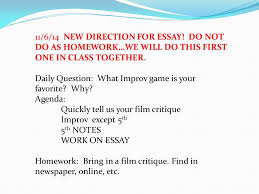 NEW DIRECTION FOR ESSAY  DO NOT DO AS HOMEWORK    SlidePlayer