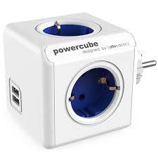 <b>GOCOMMA</b> 1202 Blue 4EU + 2 USB Sockets Switches Sale, Price ...