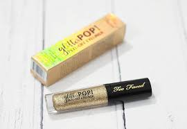 <b>Too Faced</b> Glitter Pop Peel Off Eyeliner Review / Swatches in Lucky ...