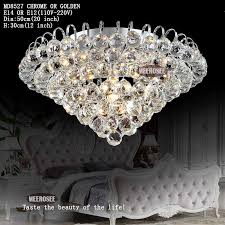 20 inch crystal ceiling lights crystal lamp round crystal light fixture lustres de sala silver cheap ceiling lighting