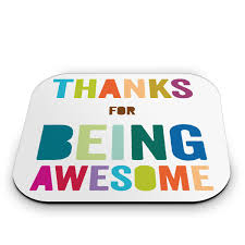 thank you gifts appreciation gifts thank you gift ideas thank you gifts thanks for being awesome mouse pad