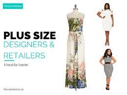 A Few of Our Favorite Plus <b>Size Fashion</b> Designers