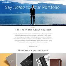 psd portfolio and resume website templates colorlib elegant psd portfolio theme