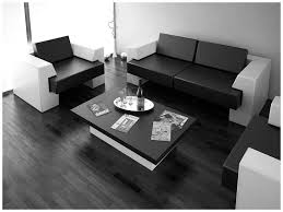 interior space dream home black and white furniture in simple space black white interior design