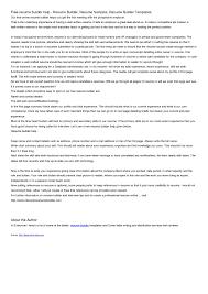 online resume builder printable cipanewsletter printable resume builder smlf printable resume