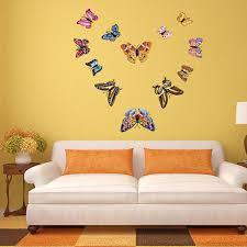 <b>12pcs/Set Luminous</b> Butterfly Wall Stickers Kids Room Decor ...
