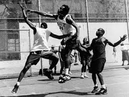 Image result for playground basketball in the hood