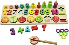 Toddler <b>Puzzles Toys</b>,77 Pieces Number /<b>Fruit</b> /<b>Shape</b> Sorting ...