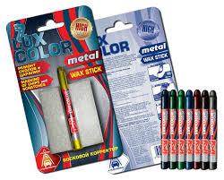 <b>Восковой корректор</b> METAL <b>Lux Color</b>, синий - купить по цене 80 ...