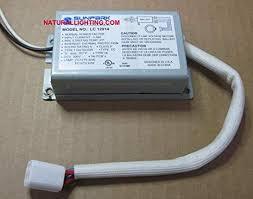 Sunpark LC-12014T (1) FC12T9 32 Watt Circline (1) <b>2D</b> 38 Watt (1 ...