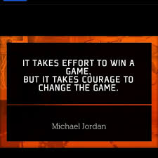 images about sports quotes on pinterest  sport quotes  it takes courage to change the game   michael jordan