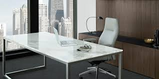 stunning modern executive desk designer bedroom chairs: beautiful grey office furniture with white rectangle desk and metal base frames combined soft swivel chairs