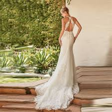 <b>Verngo Mermaid</b> Wedding Dresses Lace <b>Appliques</b> Boho Wedding ...