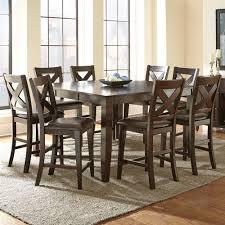 silver delano piece dining room set