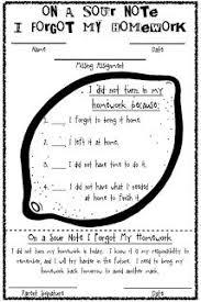 ideas about Missing Homework on Pinterest   Homework Binder     Cute idea for missed homework slips when students dont complete their homework