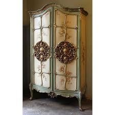 antique venetian painted armoire antique furniture armoire