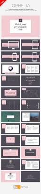 best ideas about presentation templates this presentation template has an elegant and stylish design pink as main accent color it adds a feminine touch to your ideas works great for