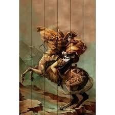 <b>Картина на дереве Дом</b> Корлеоне Наполеон Стимпанк 120x180 ...
