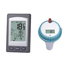 1Pc <b>Professional Wireless</b> Floating LCD Display <b>Digital</b> Waterproof ...