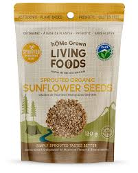 <b>Sprouted Sunflower Seeds</b> | hOMe Grown Living Foods
