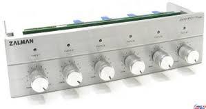 ZALMAN ZM-MFC1 Plus Silver Multi Fan <b>Speed Controller</b> (6 ...