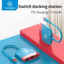€ 12,90 Réduction de 30% | <b>Hagibis Switch Dock TV</b> Dock pour ...